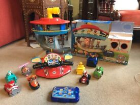 Paw Patrol lookout tower set, rescue driver , pup pad