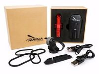As New Bike Lights USB Rechargeable - LED Bicycle Light Set XPG CREE Front Headlight