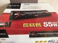 SONY CDX G1100U Single DIN Car Stereo