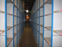 JOB LOT 100 bays dexion impex industrial shelving 2.1m high ( storage , pallet racking )