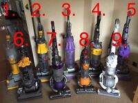 Refurbished Dyson Vacuums, hoover. Text or email only please