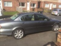 Jag x-type metallic Gray, mint inside and out, low mileage for year, mot aug 18.