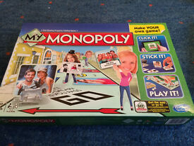 My Monopoly Board Game: Never used