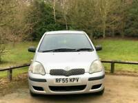 TOYOTA YARIS T2 1.0L 2005 12 SERVICES 79950 WARRANTED MILES HPI CLEAR EXCELLENT CONDITION