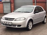 2006 06 Chevrolet Lacetti 1.4 SE 5dr+2 KEYS+FSH+PART EX CLEARANCE+BARGAIN+IMMACULATE CONDITION+
