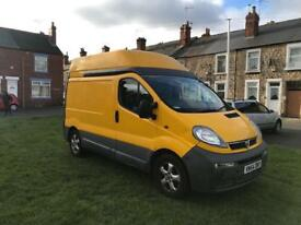 Large selection of vivaro trafic vans over 15 in stock from £1200