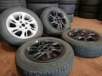 """Fiat punto 14"""" 4x100 alloy wheels vauxhall honda toyota nissan"""