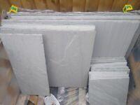 20 pieces Indian sandstone patio slabs