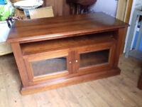 solid wood TV / HI/FI Cabinet