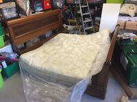 SUPER KING SIZE BED FOR SALE.