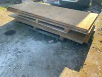 V-H-Duty Steel road plate. Approx 12mil thick