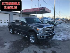 2015 Ford F-250 Lariat diesel cuir gps mags 20 pouces