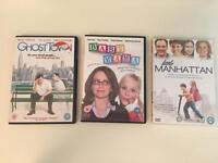 DVDs assorted