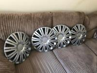 15 inch hub caps - never used