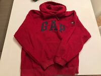 Men's medium gap fleece Hoodie