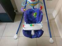 Fisher Price Baby Cradle and Swing