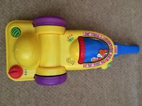 Fisher price musical vacuum cleaner