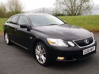 LEXUS GS-450 HYBRID AUTO RARE CAR *MASSIVE SPEC* LIKE E220 E320 530D JAGUAR XF IS220 S320 730D 750
