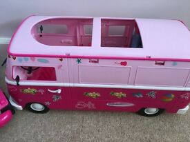 Barbie Fun! Jeep & Motorhome