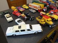 large diecast model car collection