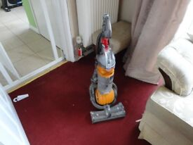 dyson dc 24 roller ball all working but handle wont stay in wants looking at