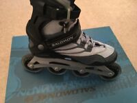 Salomon inline skates, women's size 5.5 uk