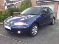 Rover 200 1.4Si PETROL '98(S) 3 DOOR HATCHBACK IN BLUE.