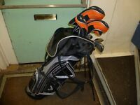 CONFIDENCE GOLF CLUBS AND BAG X13 CLUBS