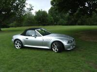 BMW Z3 3.0L in Silver, 2001 model in Excellent condition