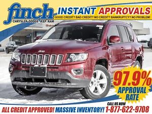 2016 Jeep Compass Sport 4x4|GET APPROVED TODAY!