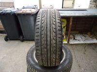 225 x 155 x 16 firestone tyres on alloy rims