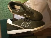 New Balance Mens 996 Leather Trainers Multicolour (GREEN\Khaki) 11.5UK Boxed New