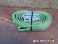 3 Mtr x 2 ton webbing lifting slings in good condition ,