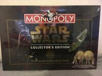 Monopoly Star Wars Collector's Edition board game