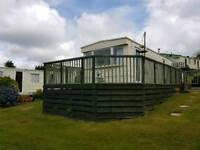 Why not book a late wee break in cosy mobile home