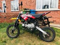 125cc pitbike I CAN DELIVER