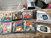 Gameboy Advance with 6 Games and all Boxed