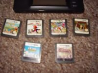 NINTENDO DS LITE WITH TOP GAMES