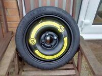 "Spacesaver Wheel 14"" T105/70R14 84M- will fit VW 'UP', Skoda 'Citigo' & Seat 'Mii'"