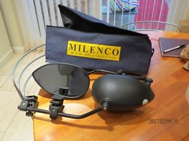 MILLENCO AERO CARAVAN TOWING MIRRORS WITH BAG