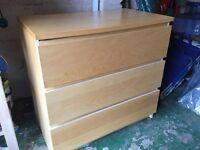 IKEA Malm drawers- quick sale: £10