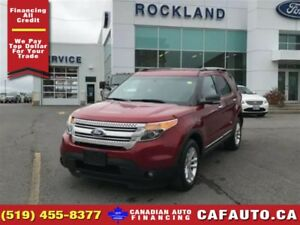 2014 Ford Explorer XLT | AWD | LEATHER | NAV | ECOBOOST