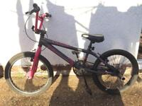 BMX style girls bike £25