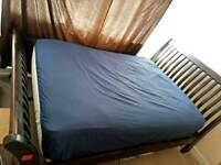 KING size solid wooden bed