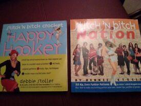 Two Stitch 'N bitch books