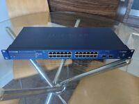 Netgear ProSafe 24Port 10/100/1000 Smart Switch GS724T V3