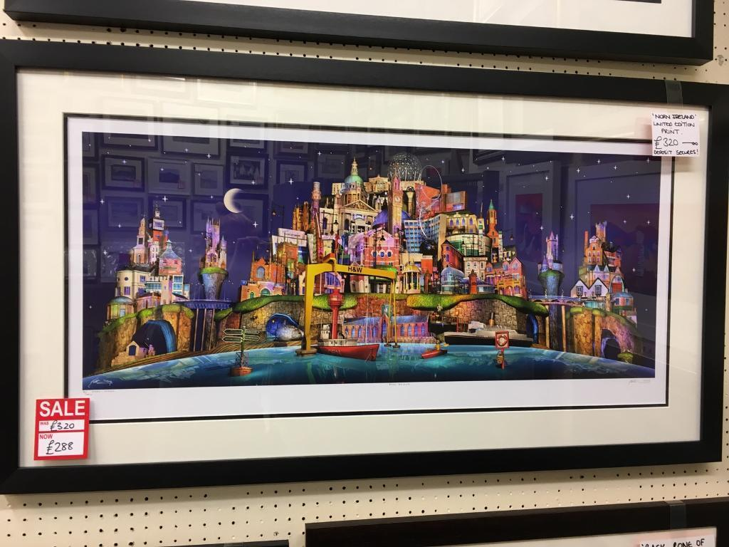 New keith drury framed prints belfast