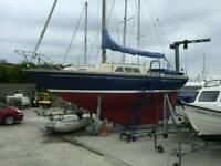 Classic nicholson 26 cruising sailing yacht / boat