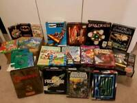 Job Lot of Boxed Amiga Games