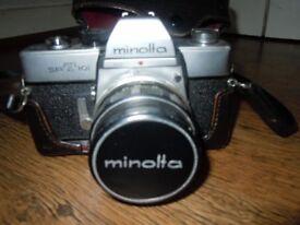 VINTAGE MINOLTA SR-T 101 35MM SLR CAMERA